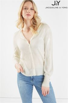 JDY Soft Touch Button Through Cardigan