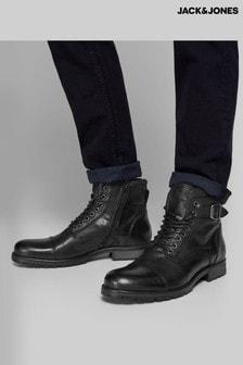 Jack & Jones Leather Boots