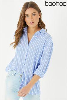 Boohoo Striped Shirt