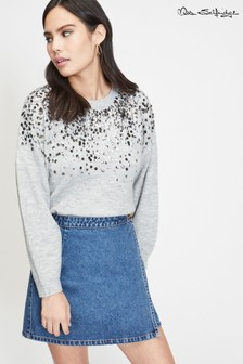 Miss Selfridge Pullover mit Pailletten