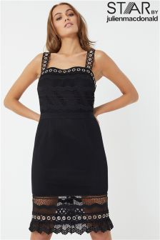Star By Julien Macdonald Eyelet Lace Panel Dress