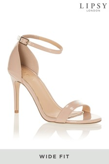 Lipsy Wide Fit Barely There Sandals