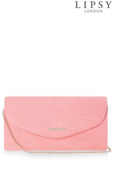 Lipsy Suedette Matching Envelope Clutch Bag