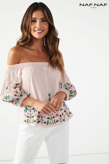 Naf Naf Off Shoulder Top