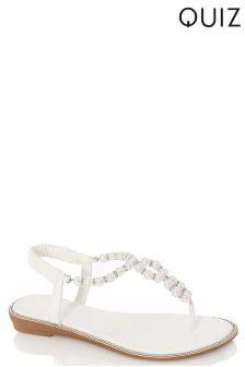 Quiz Pearl Sandals