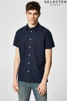 Selected Homme Short Sleeve Shirt