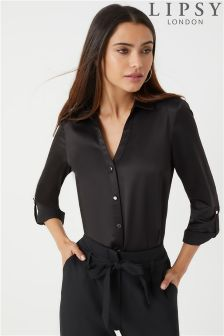 Lipsy Satin Shirt