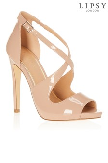 Lipsy Cross Strap Platform Sandals