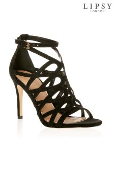 Lipsy Loop Cut Out Detail Sandals