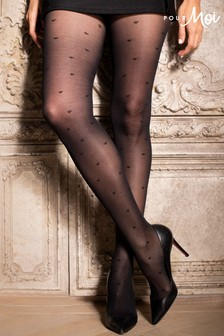Pour Moi Love Luxe 15 Denier Heart Tights