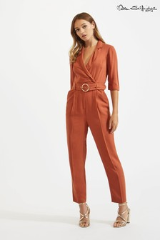 Miss Selfridge Belted Utility Jumpsuit