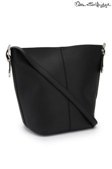 Miss Selfridge Western Buckle Unlined Bucket Bag