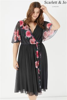 Scarlett & Jo Valentine Rose Marilyn Dress