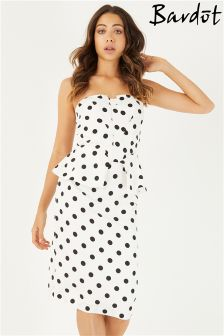 Bardot Suri Peplum Midi Dress