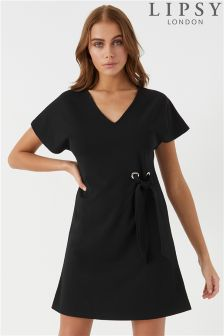 Lipsy Eyelet Shift Dress