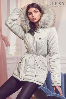 Lipsy Reversible Padded Parka Coat