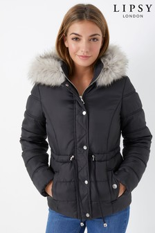 Lipsy Padded Hooded Coat