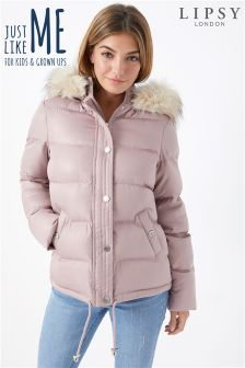 Lipsy Faux Fur Padded Jacket