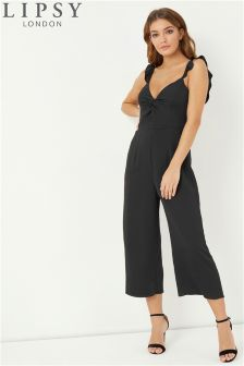 Lipsy Twisted Front Culotte Jumpsuit