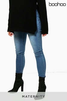 Boohoo Maternity Ivy Skinny Over The Bump Jeans