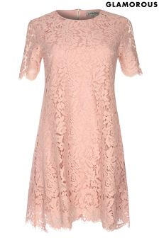 Glamorous Curve Lace Dress