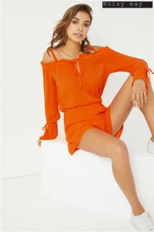 Noisy May Cold Shoulder Playsuit