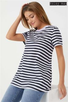 Noisy May Stripe T-Shirt