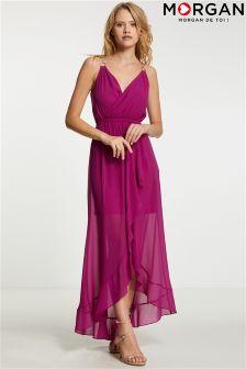 Morgan Wrap Maxi Dress