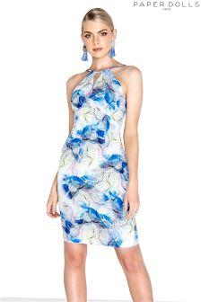 Paper Dolls Floral Midi Dress