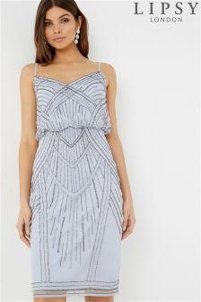 Lipsy Embellished blouson Cami Dress
