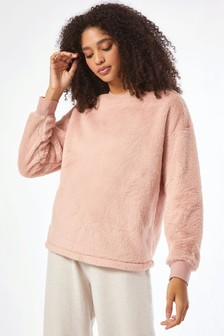 Dorothy Perkins Faux Fur Sweatshirt