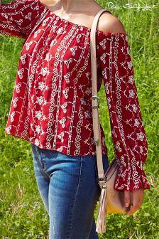 Miss Selfridge Tassel Cross Body Bag