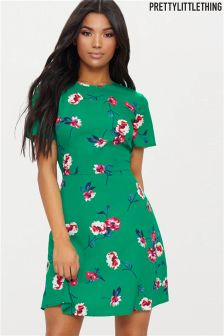 PrettyLittleThing Floral Mini Dress