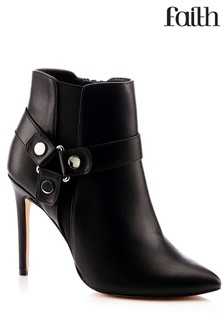 Faith Wide Fit Stiletto Heel Boot