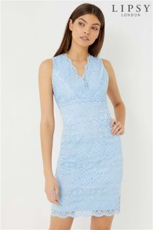 Lipsy Lace V neck Dress