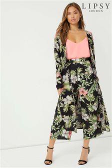 Lipsy Floral Long Kimono