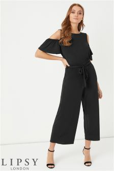Lipsy Cold Shoulder Jumpsuit