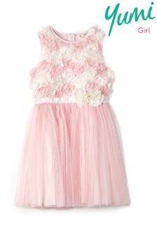 Yumi Girl Multicoloured Rose Prom Dress