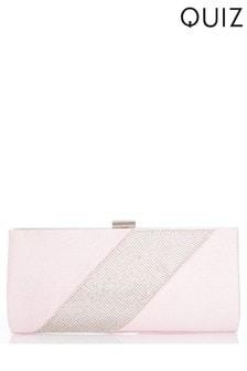 Quiz Diamanté Clip Bag