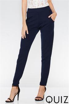 Quiz Tapered Leg Trousers