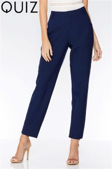 Quiz Pocket Detail Tapered Trousers