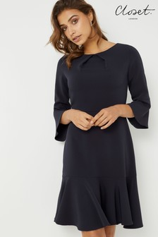 Closet Frill Sleeve A line Dress