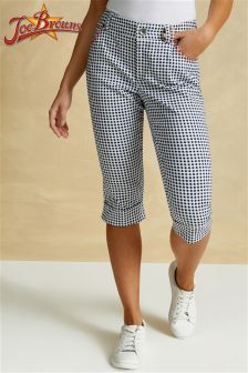 Joe Browns Womens Gingham Capri Pants