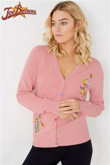 Joe Browns Vintage Style Embroidered Cardigan
