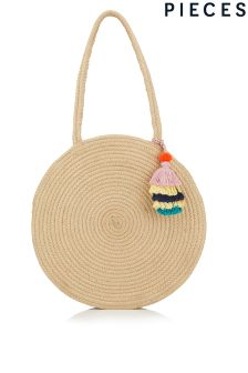 Pieces Straw Bag