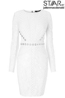 Star By Julien Macdonald  Sequin Panel Dress