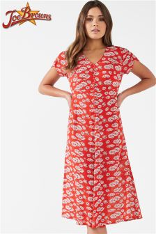 Joe Browns Womens Short Sleeve Tea Dress
