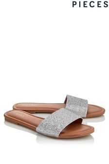Pieces Slider Sandals