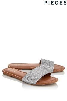 Pieces Slider Sandals