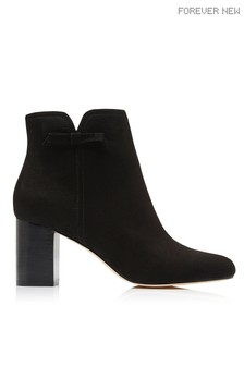 Forever New Side Bow Ankle Boots